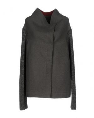 Пальто NICOLAS & MARK. Цвет: свинцово-серый