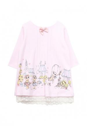 Платье Мамуляндия. Цвет: розовый