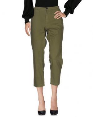 Повседневные брюки GERARD. Цвет: зеленый-милитари