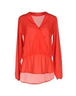 Блузка HOPE COLLECTION. Цвет: красный