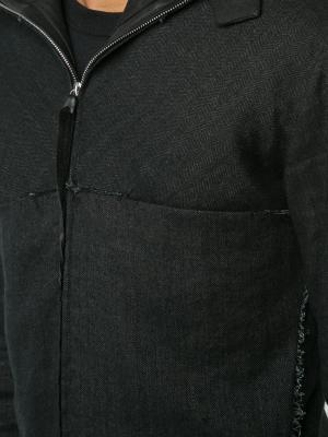 Куртка с капюшоном Ma+. Цвет: чёрный