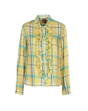 Pубашка GUTTHA. Цвет: желтый