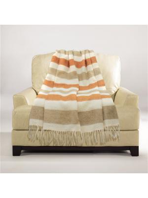 Плед Boston 1,5 сп. Amore Mio. Цвет: бежевый, молочный, оранжевый