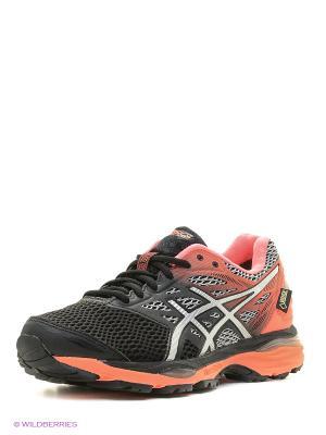 Спортивная обувь GEL-CUMULUS 18 G-TX ASICS. Цвет: черный, коралловый, серый