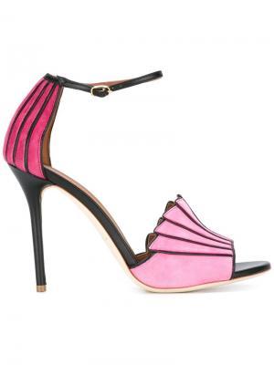Босоножки Minnie Malone Souliers. Цвет: розовый и фиолетовый