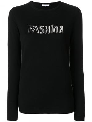 Джемпер Fashion Bella Freud. Цвет: чёрный