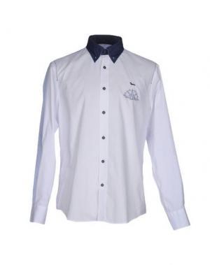 Pубашка HARMONT&BLAINE. Цвет: белый