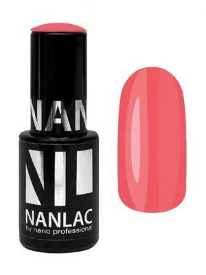 Гель-лак NL 2138 гребень Мак-Кинли 6 мл Nano Professional. Цвет: светло-коралловый