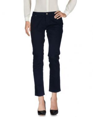 Повседневные брюки ARTIGLI. Цвет: темно-синий