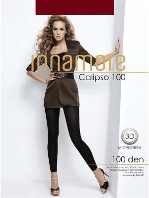 Леггинсы Calipso 100 bordo Innamore. Цвет: бордовый