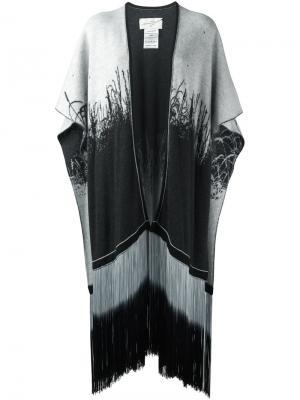 Трикотажный кафтан Antonia Zander. Цвет: чёрный