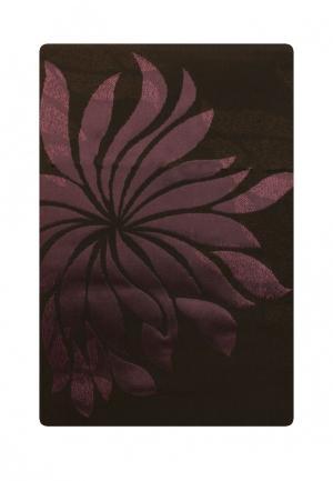 Штора Sanpa. Цвет: коричневый