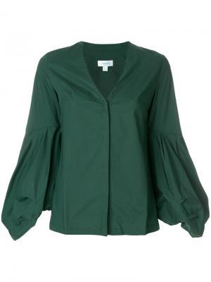 Блузка Arreton Jovonna. Цвет: зелёный