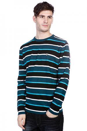 Свитер  Life Sweater Turquoise Enjoi. Цвет: белый,синий,черный