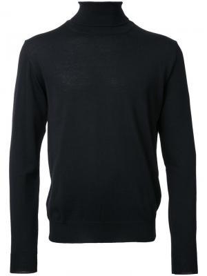 Джемпер с высокой горловиной Éditions M.R. Цвет: чёрный