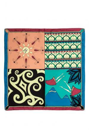 Шелковый платок 156820 Tatiana Kulagina. Цвет: разноцветный