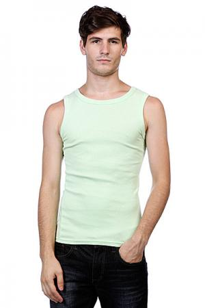 Майка  Faded Tanktopint Urban Classics. Цвет: зеленый