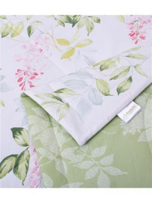 Одеяло Asabella. Цвет: бледно-розовый,салатовый
