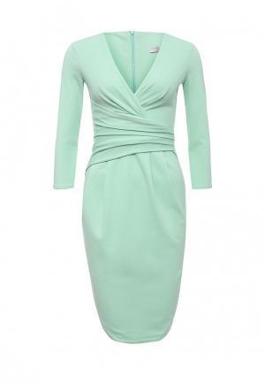 Платье City Goddess. Цвет: бирюзовый
