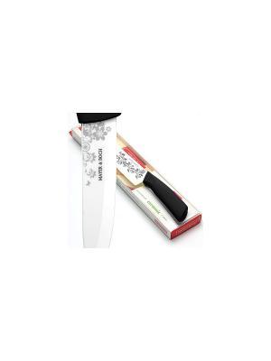 Нож кухонный MAYER-BOCH. Цвет: черный, белый