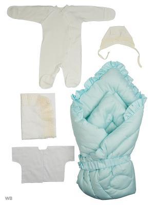 Конверты для малышей KIDONLY. Цвет: голубой