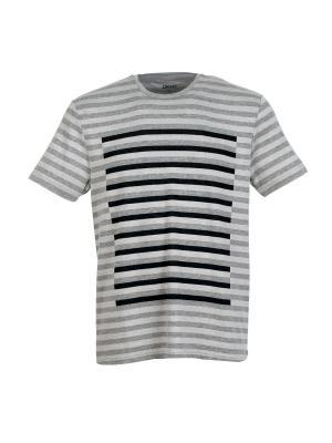 Футболка DKNY. Цвет: серый