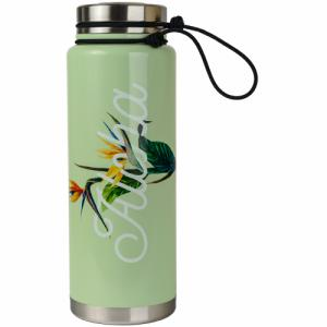 Термобутылка Для Воды MIZU. Цвет: aloha glossy minth w/ sst lid & rope leash