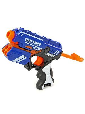 Пистолет с мягкими пулями VELD-CO. Цвет: синий