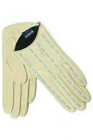 Перчатки Dali Exclusive. Цвет: молочный, голубой
