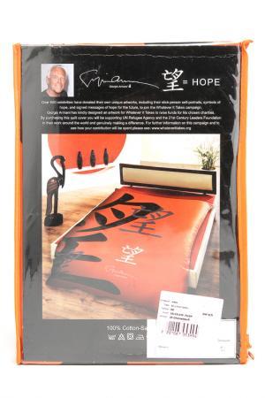 Двуспальный пододеяльник Donna Karan. Цвет: оранжевый