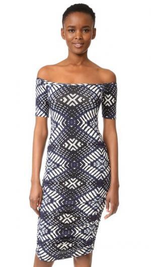 Платье с Mavery Rachel Pally. Цвет: индиго икат