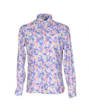 Pубашка MOSAIQUE. Цвет: розовый