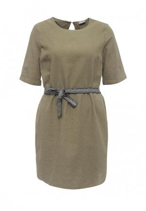Платье Vero Moda. Цвет: хаки
