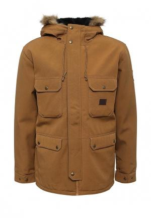 Куртка Billabong. Цвет: коричневый