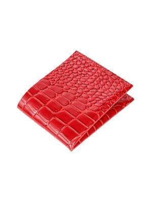 Портмоне Timeless серия Mini (красный крокодил). Цвет: красный