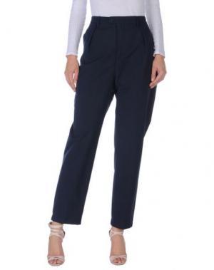 Повседневные брюки CAMO. Цвет: темно-синий
