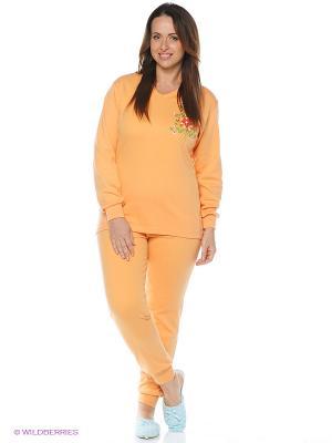 Пижама Jasmil. Цвет: оранжевый
