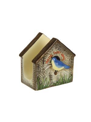 Держатель для салфеток Свой садик XLSGAR071E Country Garden Blonder Home. Цвет: бежевый