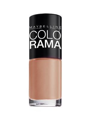 Лак для ногтей Colorama, оттенок 109, Кофе с молоком, 7 мл Maybelline New York. Цвет: бежевый