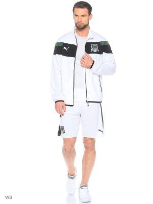 Толстовка FK Krasnodar Stadium Jacket Puma. Цвет: белый