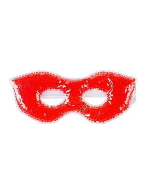 Гелевая маска для лица с эффектом нагревания/охлаждения Spa belle. Цвет: красный