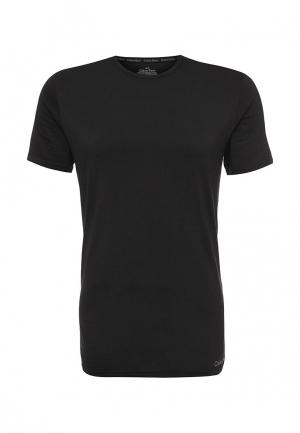 Футболка домашняя Calvin Klein Underwear. Цвет: черный
