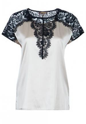 Блуза VIA TORRIANI 88. Цвет: коричневый