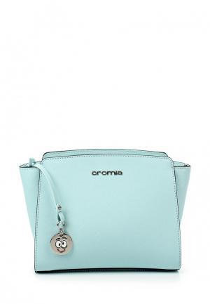 Сумка Cromia. Цвет: голубой