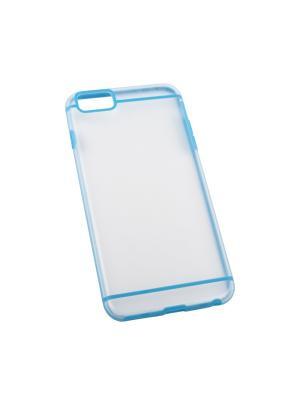 Защитная крышка для iPhone 6/6s Plus LP (синяя с полосками/прозрачная задняя часть) Liberty Project. Цвет: прозрачный