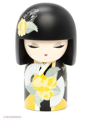 Кукла-талисман Наоми Kimmidoll. Цвет: черный, желтый