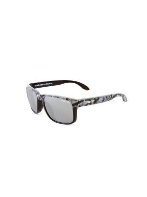 Солнцезащитные очки NRC. Цвет: серый, черный