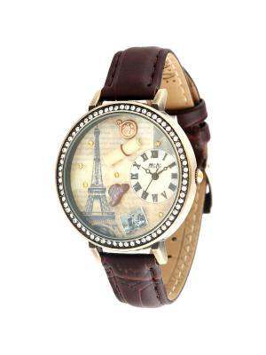 Наручные часы MN1038 Mini.. Цвет: коричневый, бронзовый
