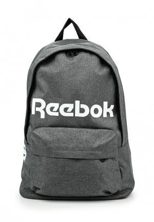 Рюкзак Reebok Classics. Цвет: серый