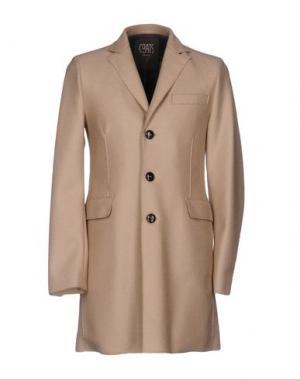 Пальто COATS Milano. Цвет: песочный